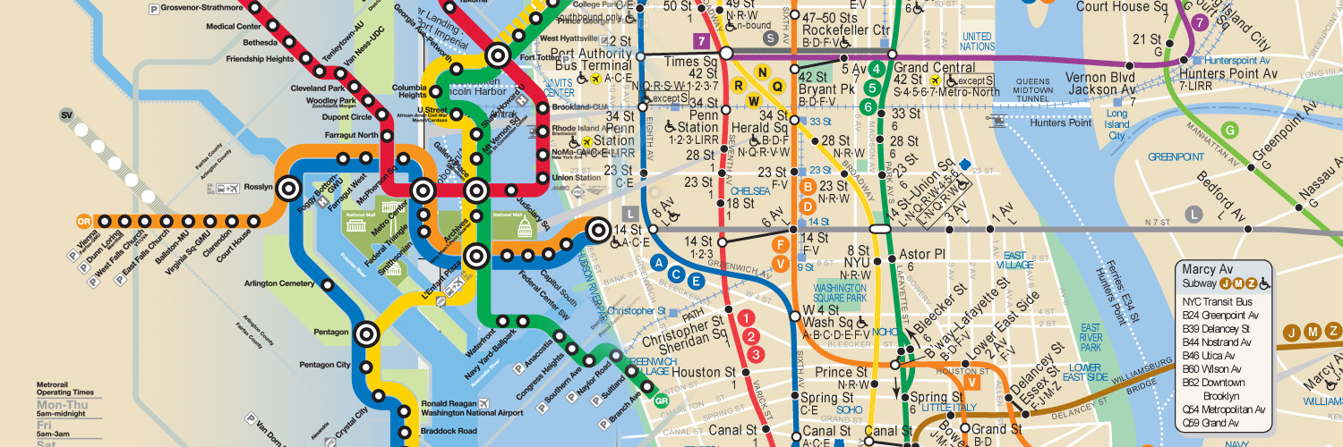 Subway Map Stops Christopher St.A Washingtonian Guide To Navigating The Nyc Subway Stephen Elliot