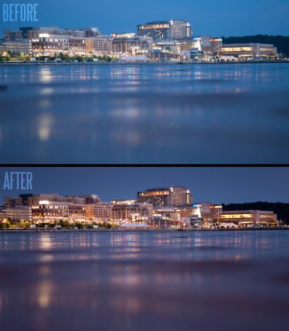 National Harbor at Dusk